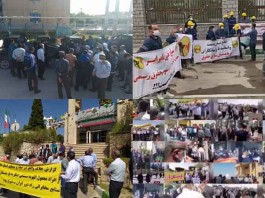 On April 6 and 7, the people of Iran staged at least 37 rallies and protests in various cities, venting their anger over the government's plundering and profiteering policies.