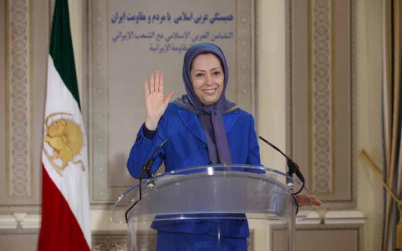 Maryam Rajavi, NCRI President-elect, at the international online session marks Ramadan