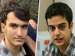Political prisoners Ali Younesi and Amir Hossein Moradi