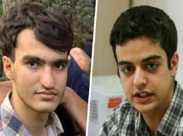 Political prisoners Ali Younesi and Amir Hossein Moradi