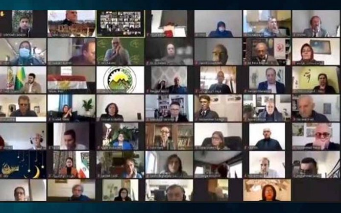 In an online conference on Wednesday, April 14, marking the holy month of Ramadan, dignitaries from different countries attended and declared their support for the Iranian people and their organized Resistance.