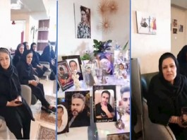Gathering of the mothers of the martyrs of the November 2019 uprising - Calling for the boycott of the regime's upcoming presidential election