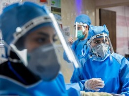 "General Director of Iran's Nursing System Organization Mohammad Mirzabaigi said: ""So far, we have had about 100,000 nurses infected with the coronavirus."""