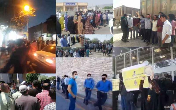 On May 20, the people of Iran held at least six rallies,protests, and strikes in various cities, venting their anger over the government's plundering and profiteering policies.