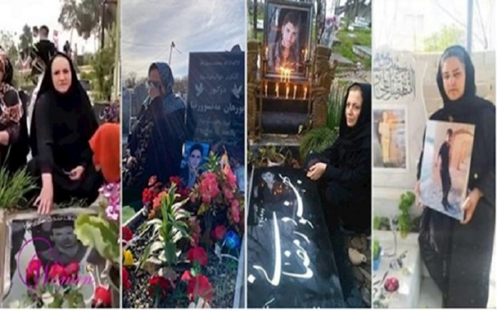 Iranian mothers who lost their children during the November 2019 uprising because of the regime's brutality and its mercilessness