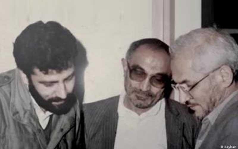 From left: Ebrahim Raisi, the Attorney-General; Assadollah Lajevardi, the Prisons Organization Chief; Assadollah Joulaei, Lajevardi's deputy in 1989.