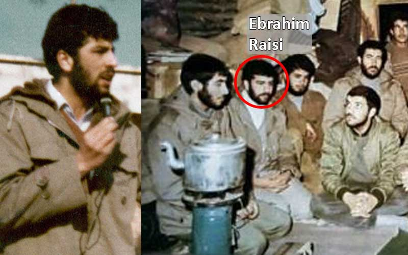 As Hamedan's Prosecutor, Ebrahim Raisi met with Hamedani soldiers on the frontlines against Iraq inciting them to sacrifice their lives for Khomeini and his ambitious goals