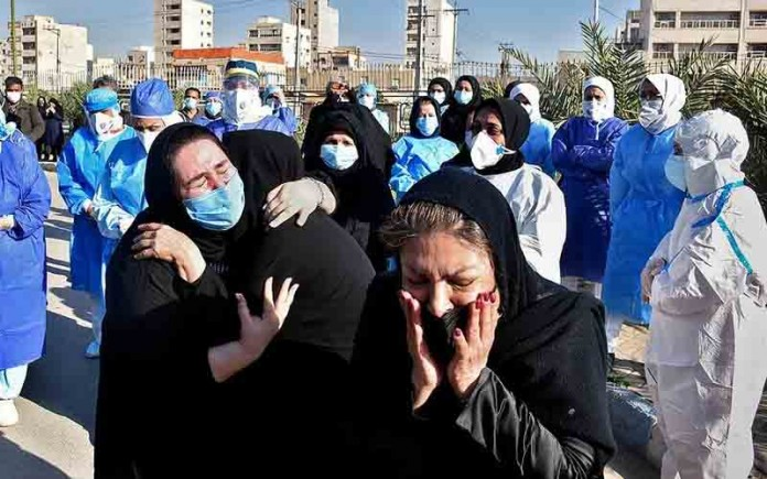 The coronavirus so far spread in 543 cities and across all of Iran's 31 provinces