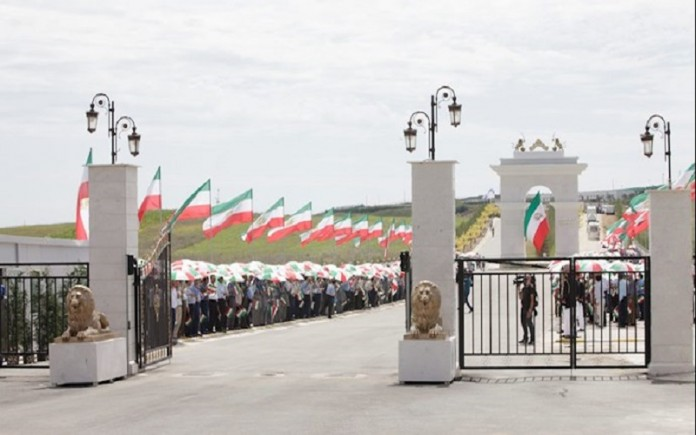 Ashraf 3, the base of Iran's opposition group the PMOI/MEK in Albania