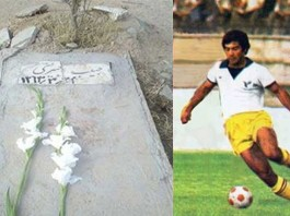 Habib Khabiri (15 August 1954 – June 21, 1984) was an Iranian footballer and captain of the Iran national football team. He was arrested for membership of the People's Mojahedin Organisation of Iran in 1983. He was subsequently tortured and executed by shooting the following year.