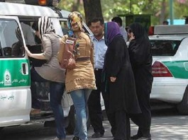Iran's police arrest young women for mal-veiling.