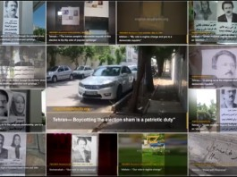During the month of May, over 310 areas in all of Iran's provinces witnessed activities calling for a boycott of the regime's sham presidential elections in June.