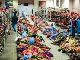 Homeless (Cardboard sleepers) and poor people of Iran