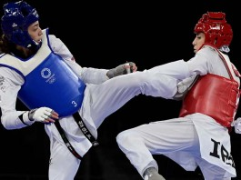Kimia Alizadeh, the Iranian taekwondo player in the Refugee Olympics Team, defeated the Islamic Republic's representative, marking another disgrace for the misogynistic regime in Iran.