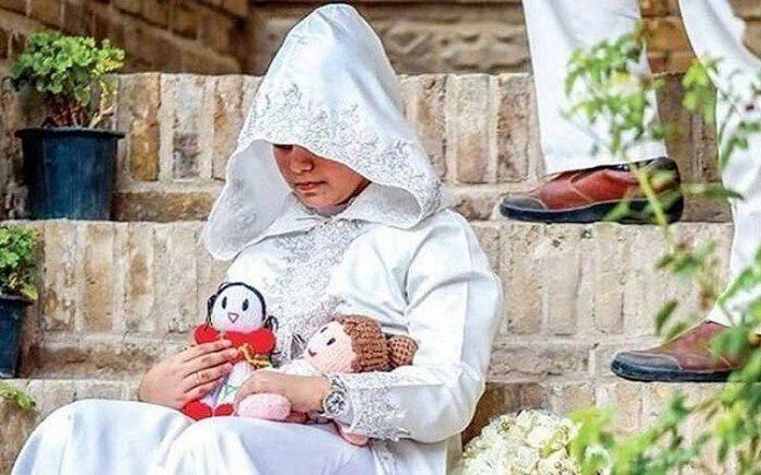 10.5% growth of child marriage in Iran