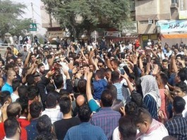 The 2021 Iranian protests are ongoing protests in Iran, in many regions, to protest the ongoing water shortages and blackouts of electricity all over Iran, fuelling public anger.