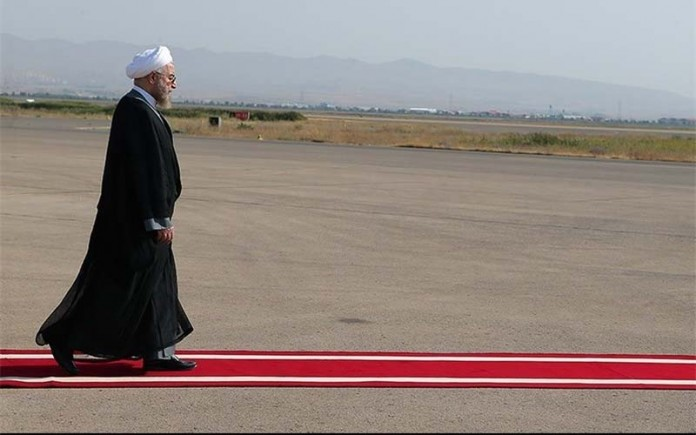 Rouhani's government officially ends. A government that came to power in 2013 with the slogan of