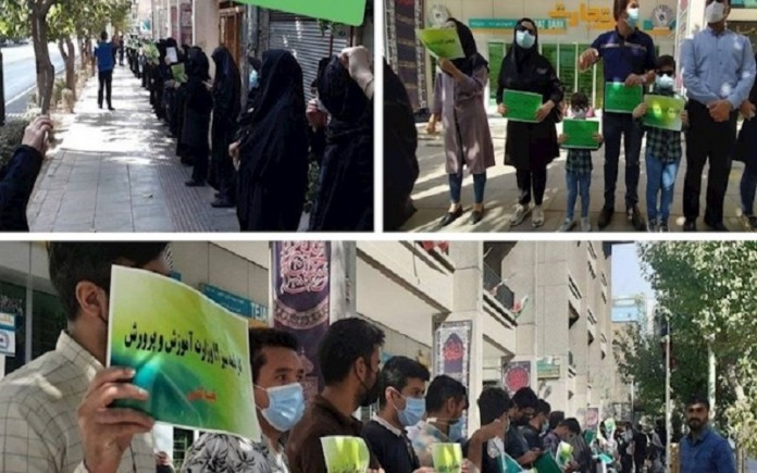 In August 2021, a total of 3,568 protest movements were formed by various social groups in Iran.