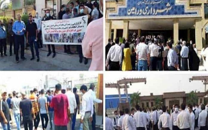 latest protest in Iran