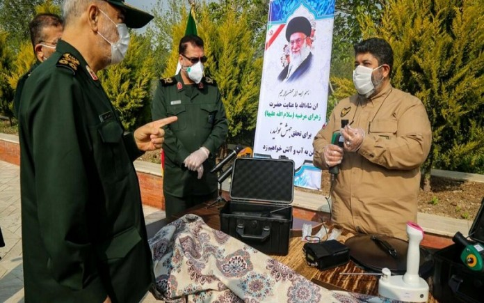 The sad truth of the increasing death of Iran's people due to the coronavirus, while Iran's IRGC introduced its homemade coronavirus detector.