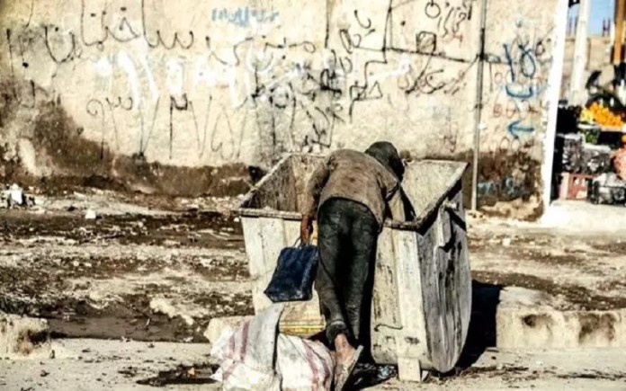 Iran, garbage collecting to cover daily livelihood
